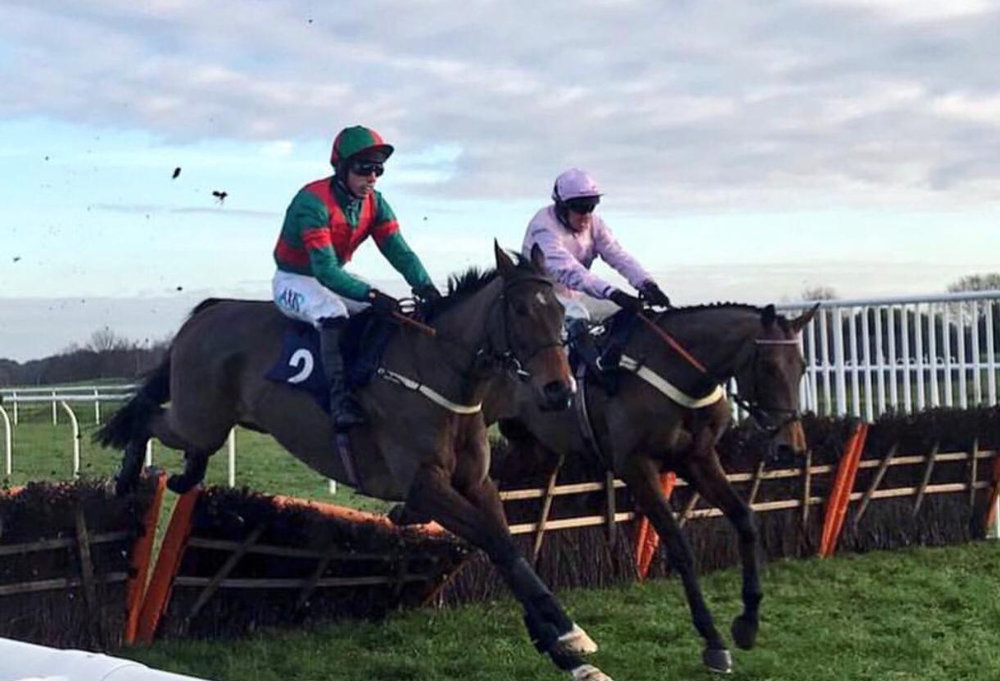 Ratfacemcdougall winning at Doncaster under Max Kendrick