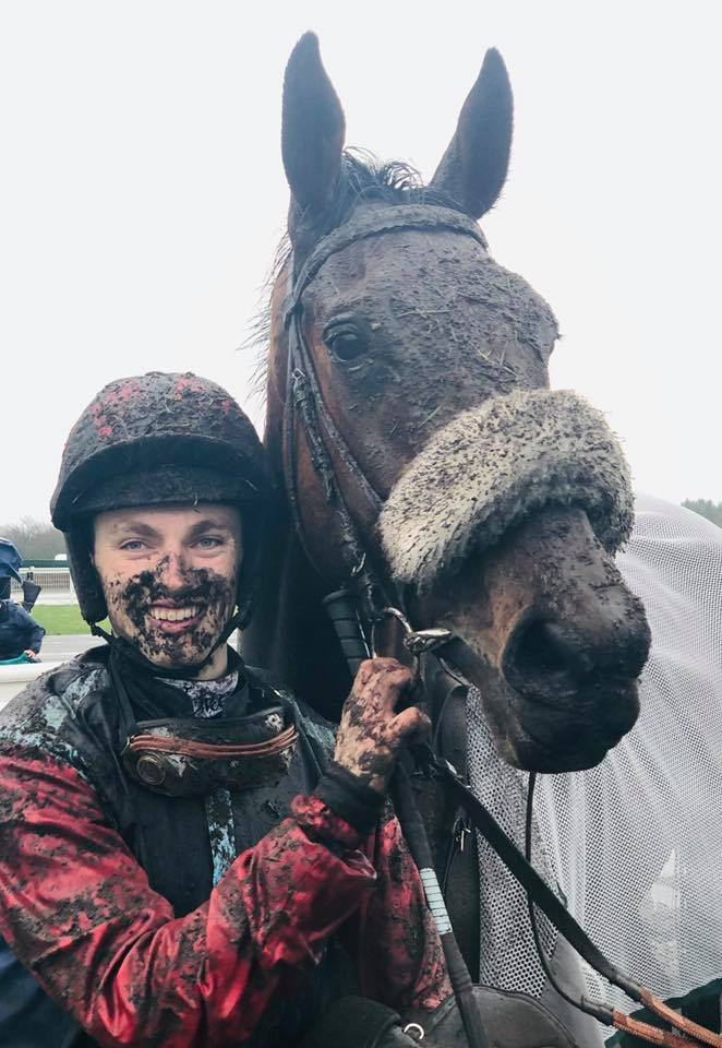 J'ai Froid and Max Kendrick after winning at Exeter