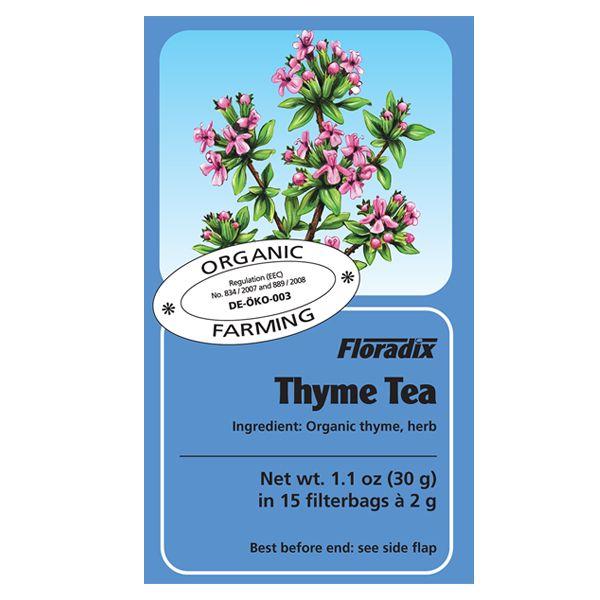 Salus House Organic Thyme Tea Bags
