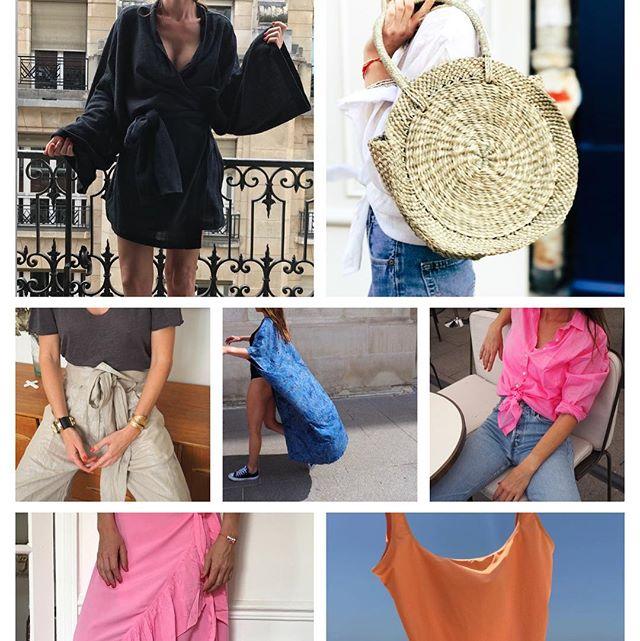 Retrouvez toute notre collection beachwear sur www.theemmestore.com ainsi que chez @jenpearlshopparis 32 rue Gustave Courbet 75116 Paris ⭐️⭐️ Soldes jusqu'à 40%!