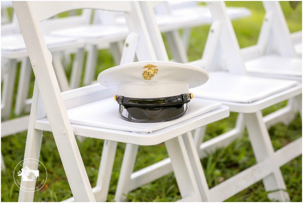 Military wedding ceremony