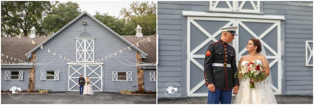 Bride and groom Florida wedding