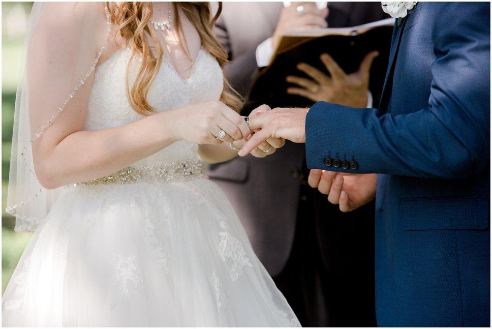 outdoor wedding ceremony in Dade city