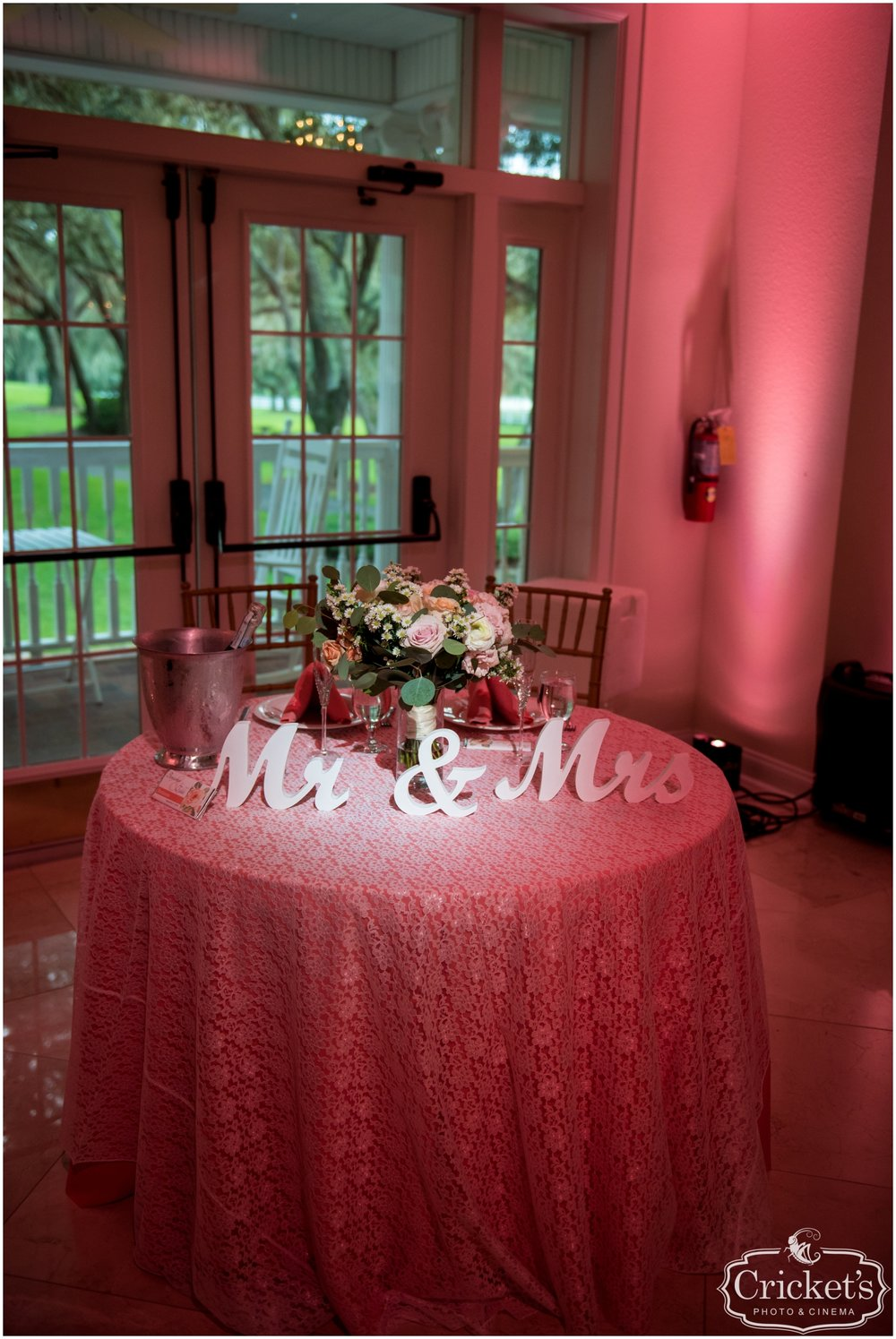 Pink themed Sweetheart Table