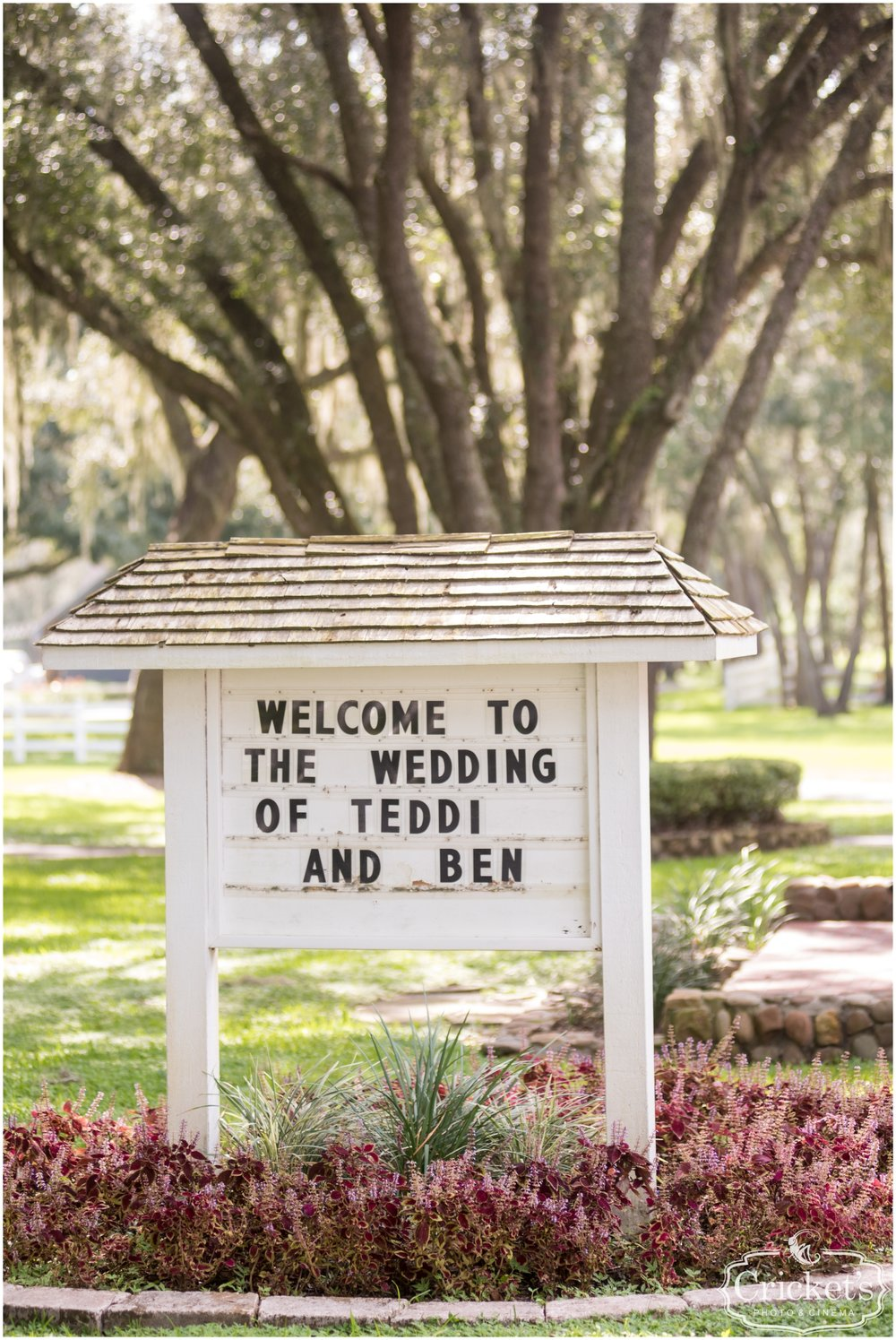 Florida Wedding at The Garden House