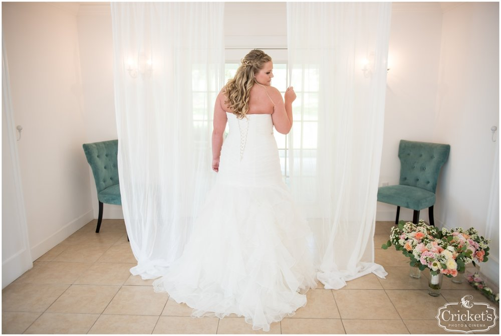 bride before her southern elegance wedding