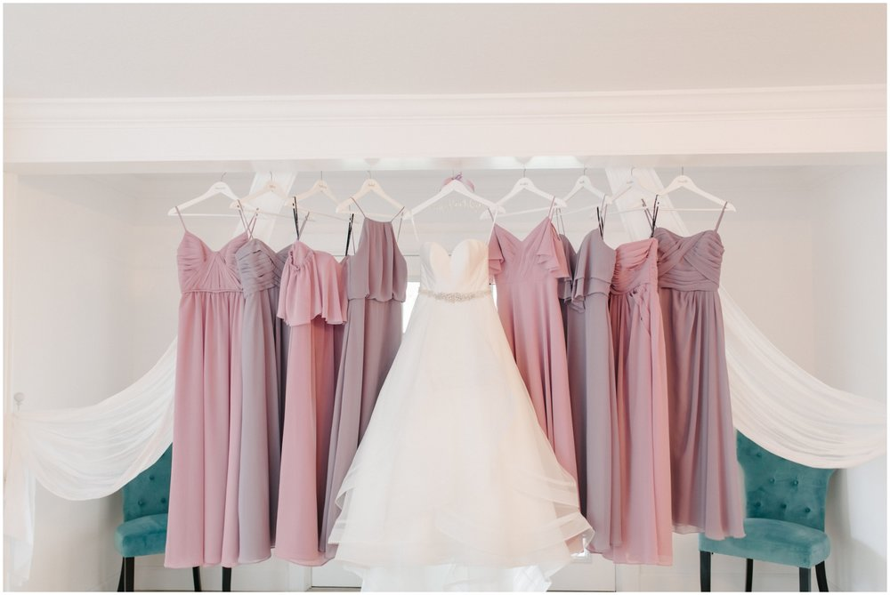 Wedding Rings and Bridesmaids dresses