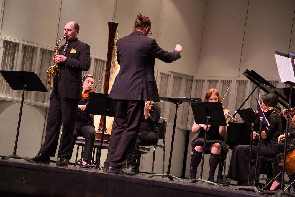 ...and Concerto for Alto Saxophone, featuring Zachary Brennan.