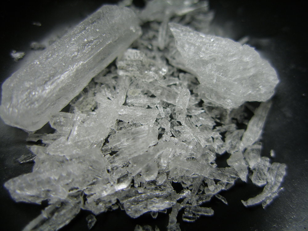 Yes, this is crystal meth. No, you need not be worried about me.