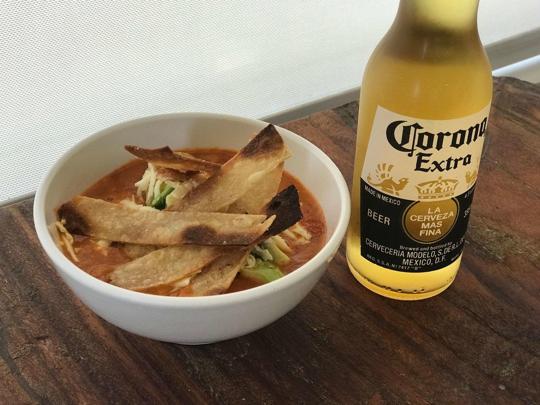 Sopa Azteca Aztec Soup Siempre Con Sal Pimienta