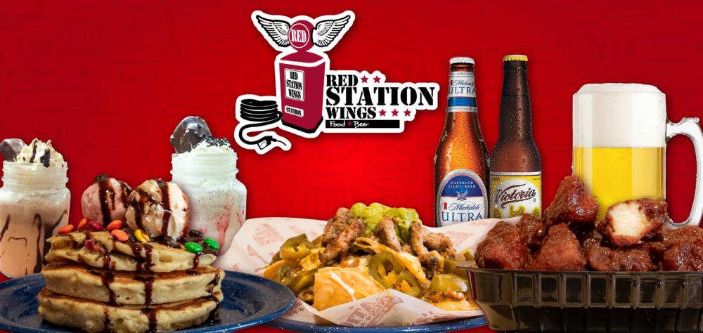Ven y conoce los nuevos platillos que tenemos en Red Station Wings para ti. ¡VEN POR TU FAVORITO!