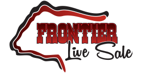 visit Frontier Live Sale to view VIDEOS of every lot selling and also for information to bid online during the LIVE ONLINE SALE