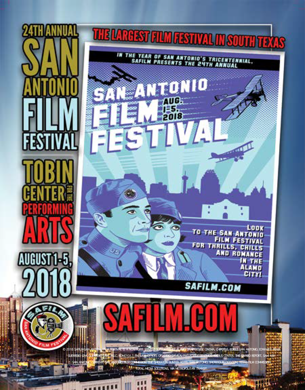 Official Selection by the 2018 San Antonio Film Festival.