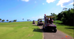Playa Grande golf carts