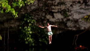 Cliff Dive into Lagua Dudu