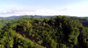 Zipline from the Air