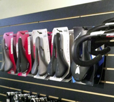 We have a variety of saddles to choose from, including Specialized and Cobb brand saddles.