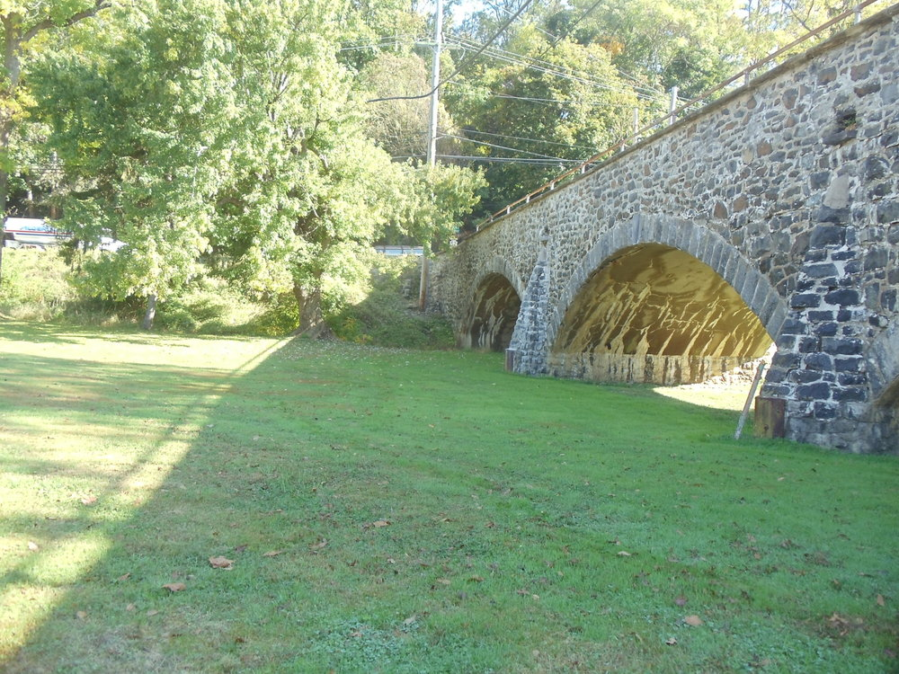 The Lenape Road bridge