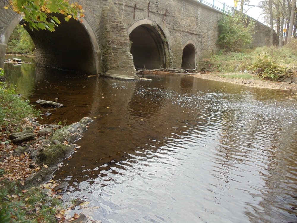 The Pennypack (Frankford Avenue) Bridge in Pennypack Park, Philadelphia, PA