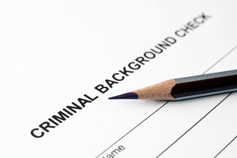 Background checks -