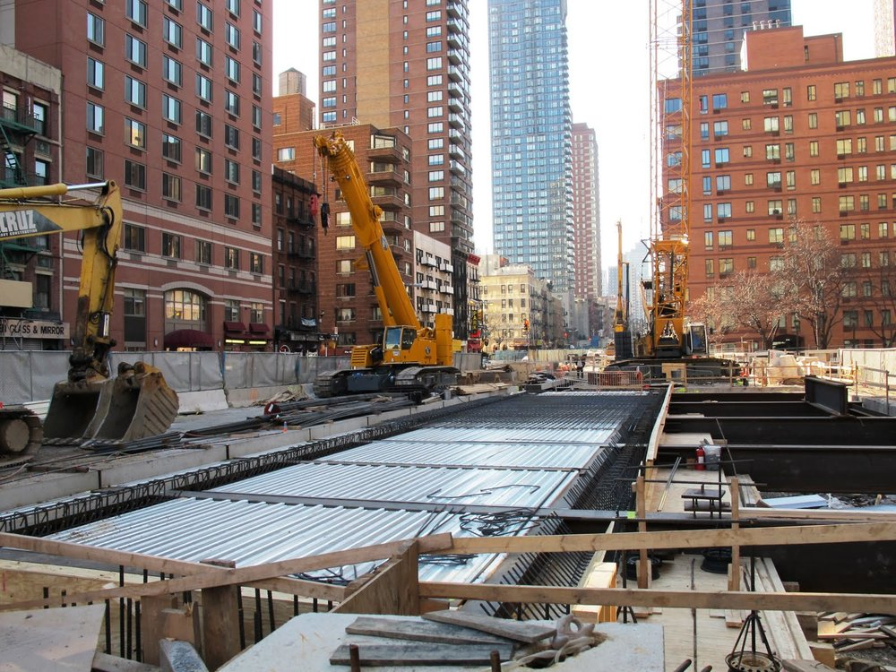 Construction sites -