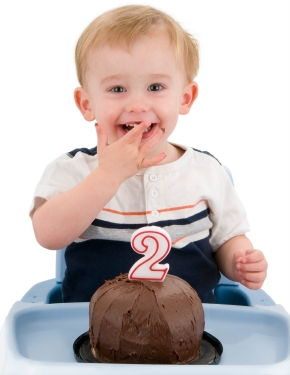 Talking by two years of age; language development charts at Canto Speech Therapy Online