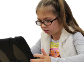 Girl receiving speech therapy at Canto Speech Therapy Online
