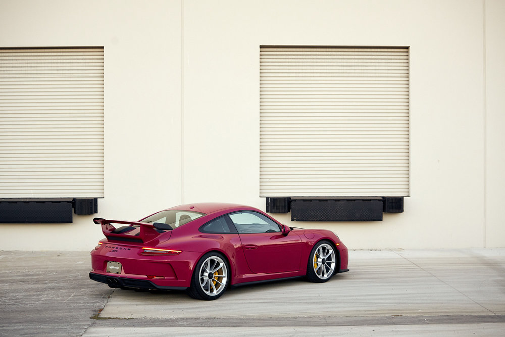 A Classic Color Revived - Ruby Star GT3 - RXX - November 7, 2018
