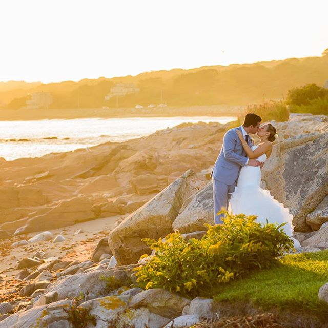 North Shore is magical. This beautiful California couple had a destination wedding in Rockport at a private home where the bride vacations with her family every summer. So many memories in that house. It was a very special day to be remembered by all who attended the festivities. The rocky coastline was the perfect backdrop. I love both these images. Magic captured by the amazing @sarahbastillephotography