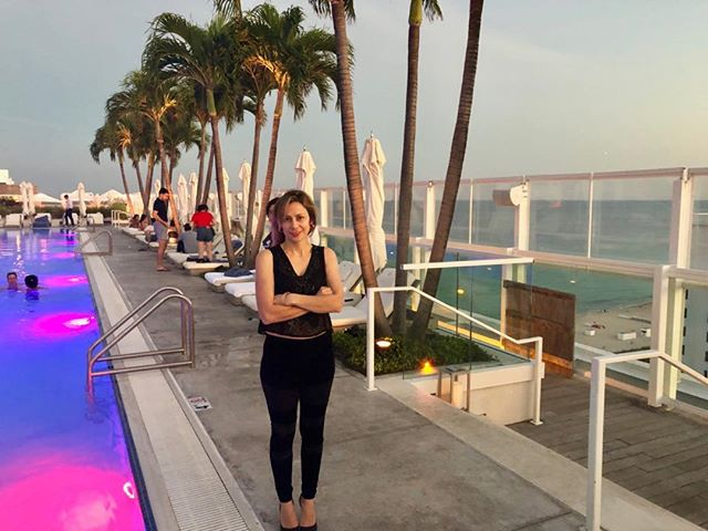 """This is Watr at the 1 Hotel Rooftop. It's pretty amazing, if anyone is looking for a private party in Miami look no further. It's sky high restaurant as they say """"floats over the sea"""". Food is delicious too with a Peruvian influenced Japanese menu. My kind of food. Let me know if you want a destination event, I am ready to come back, love it here. #the1rooftop  #southbeachmiami  #destinationeventplanner  #eventplannerlife"""