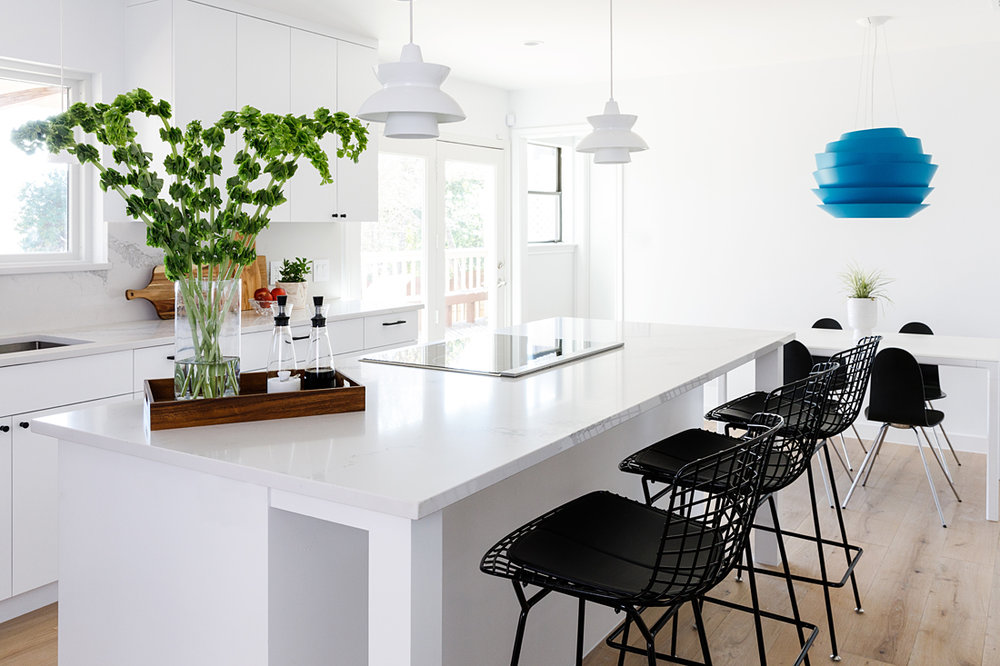 swedish style kitchen - IN COLLABORATION WITH ALLISON CRAWFORD DESIGN, WITH PHOTOS BY NICOLE MLAKER.