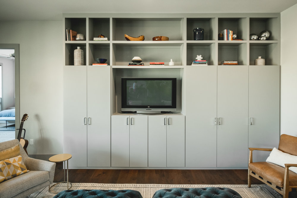 STONEWAY media cabinet - IN COLLABORATION WITH LIZ MACPHAIl Interiors, with photos by bennett creative