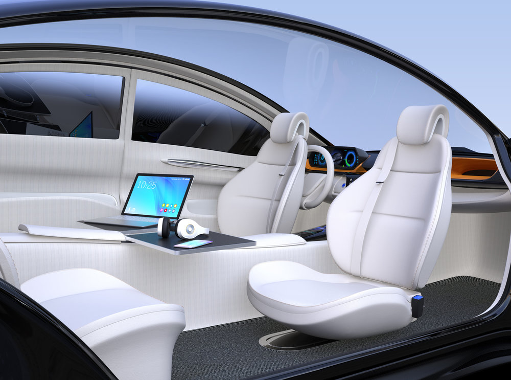 Automotive Interiors  shape-changing technologies are currently being considered for improving automotive interior design and seating. Under non-disclosure agreements at this time.