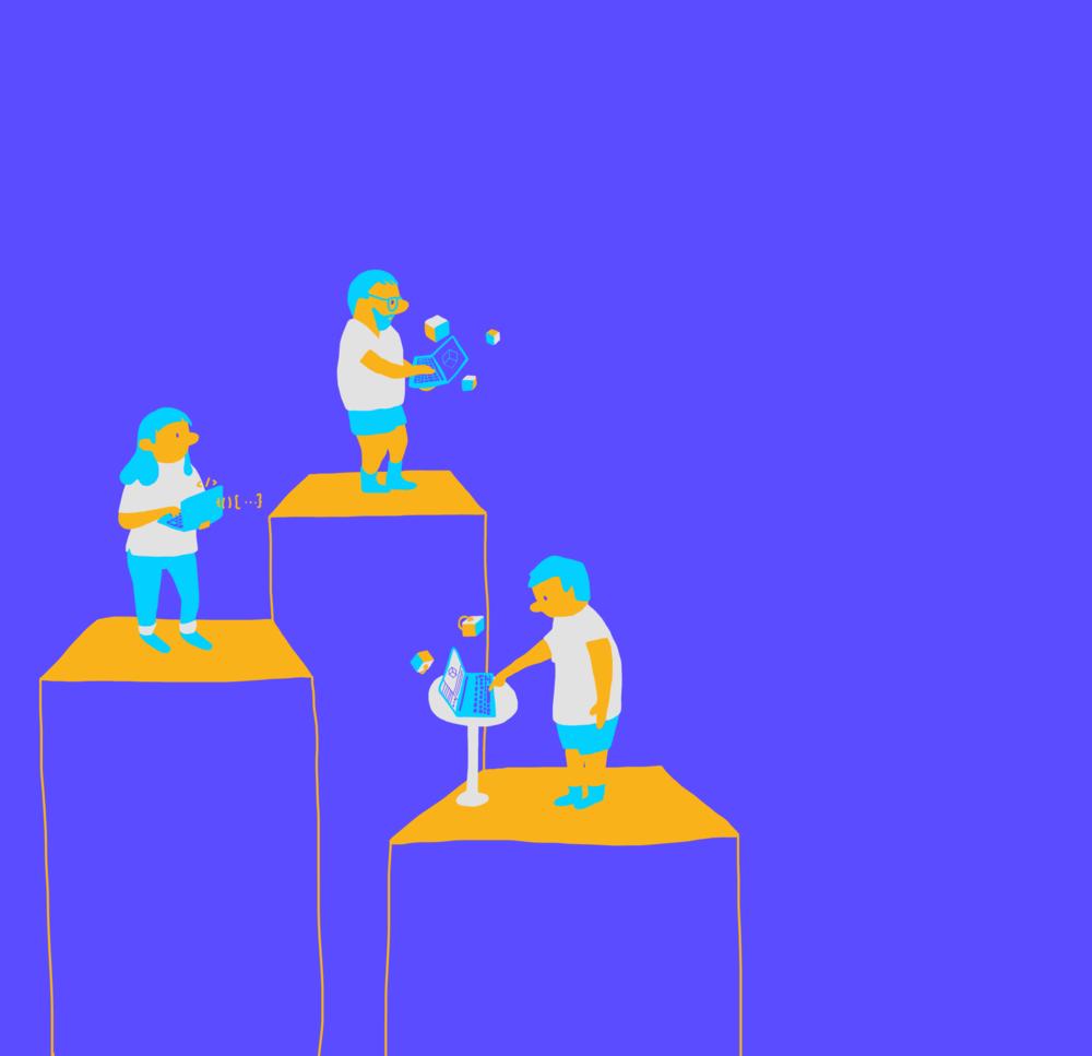 Pourquoi Trebuchet? - Nous créons et développons de nouvelles façons d'intéragir avec les gens, le contenu et les données. Notre objectif principal est de trouver des façons créatives de se connecter avec le monde qui nous entoure. Notre expertise en expérience utilisateur (UX), développement de jeux et design d'innovation nous permettent de répondre aux besoins de toutes les réalités. Parlant de réalité, nous croyons que la réalité virtuelle (VR) et la réalité augmentée (AR) représentent le futur du design d'intéractions.