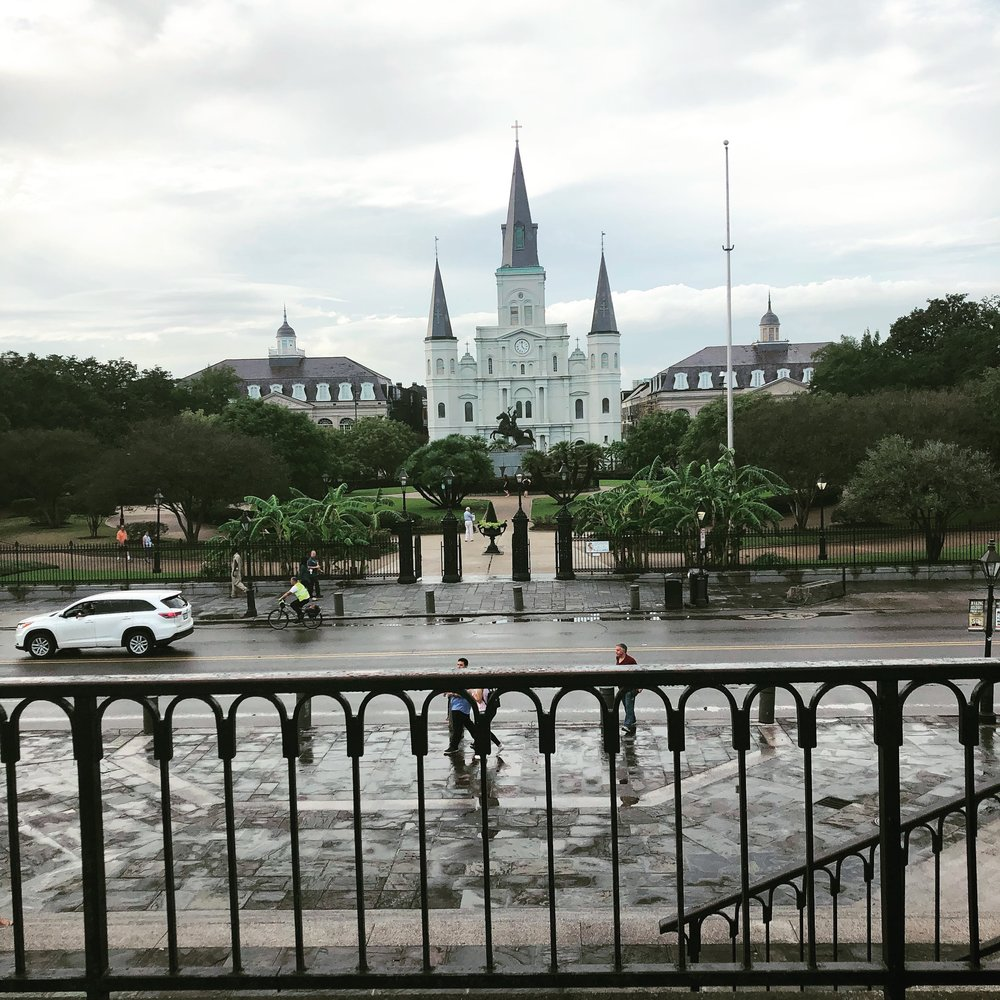 Jackson Sqaure in New Orleans