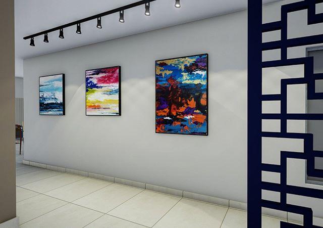 🎨🎨🎨 _ começando o fim‑de‑semana mais feliz depois de receber o 3D de um projeto com a indicação do meu trabalho! 🖌 • • Projeto do @studiotainarehder / by Studio Minuto! 🔏Muito obg pela preferência!  _______________________________________________________  #art #expressionism #abstractart #contemporarypainting #artecontemporanea #artsy #coloring #cor #brazilianart #juliastecca #juliasteccaart