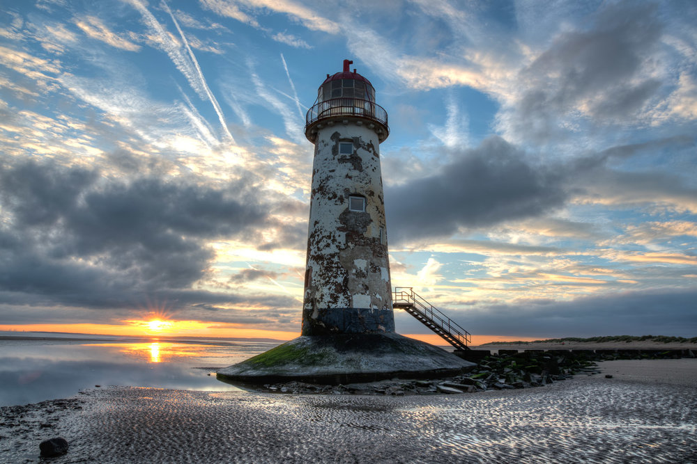 Talacre Beach Lighthouse