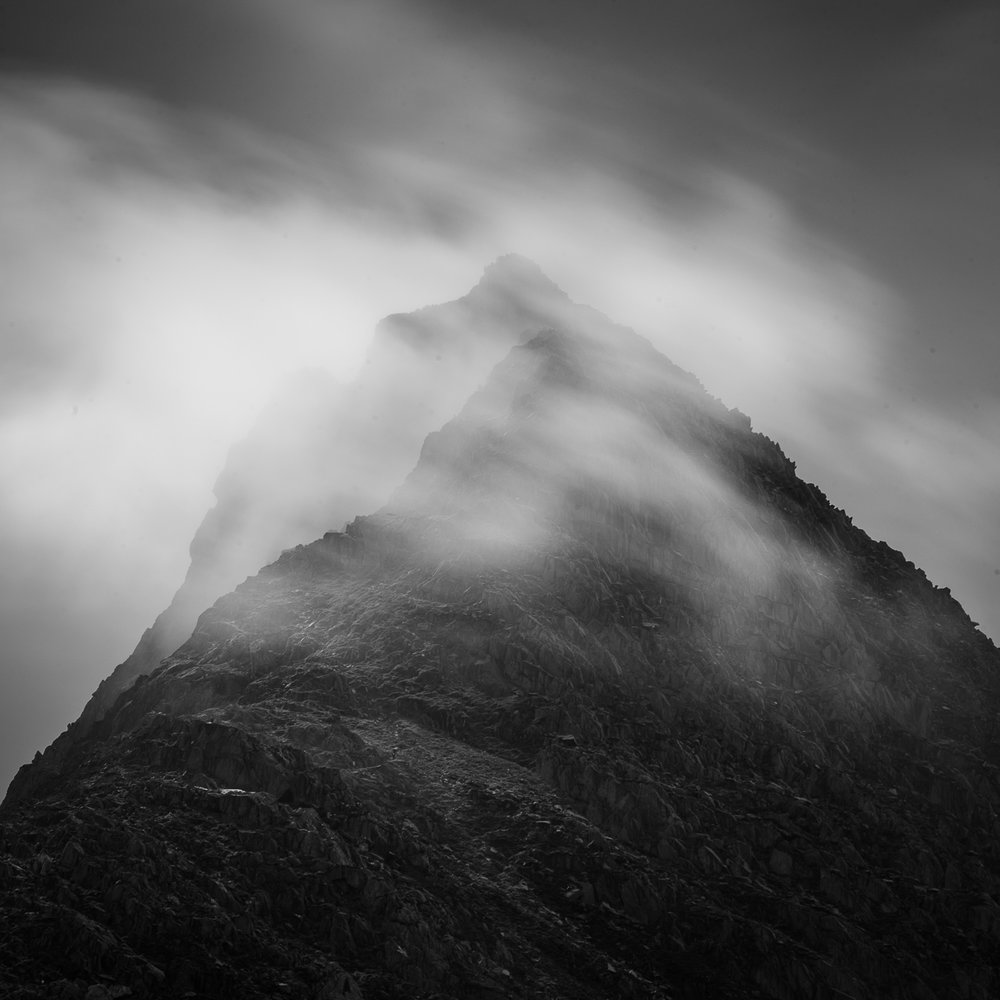 Abstract Tryfan
