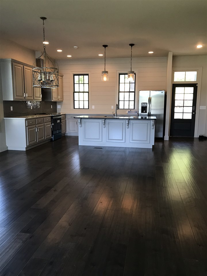 Kitchen and portion of Living Room