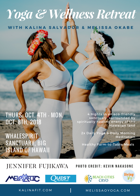 Melissa & Kalina's Hawaii Yoga Retreat 2018