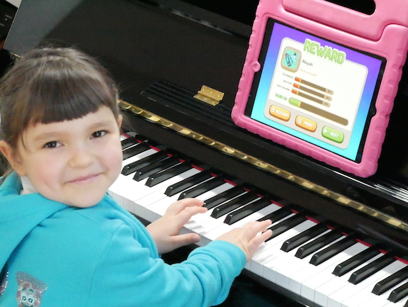 what is the piano lesson about