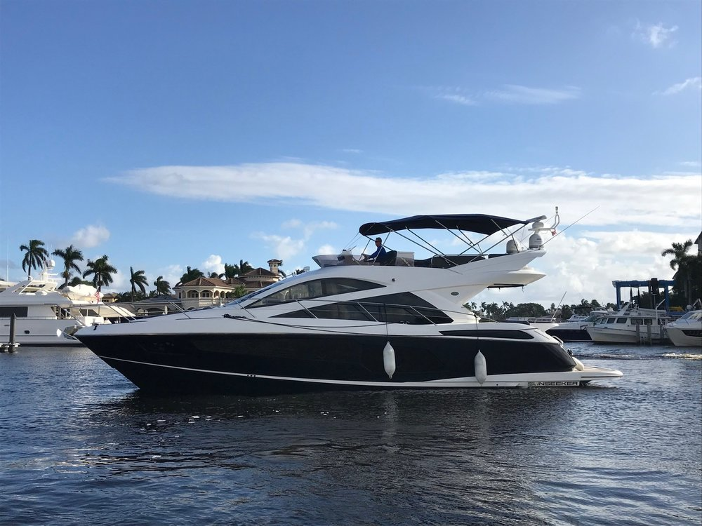3 Stateroom Suneeker Manhattan Yacht delivered in Florida by Southpaw Yacht Sales