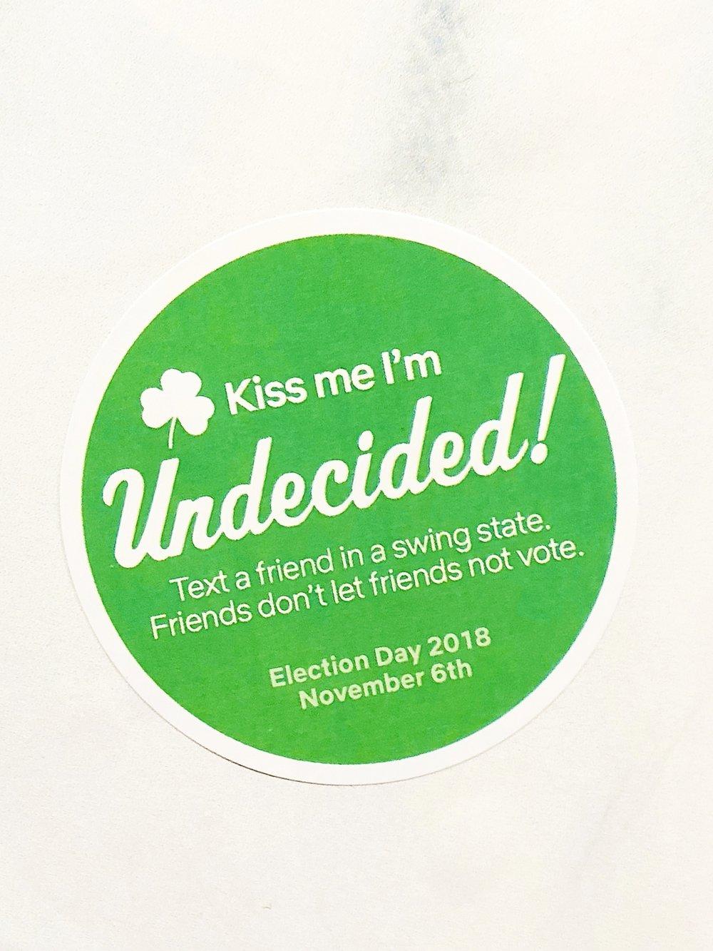 Voter Turnout Campaign  Role : Solo project