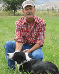 Paul Bingham DVM - Dr. Bingham has been with PSSWF since 2004. He has an extensive background with wildlife as a veterinarian. He is a licensed wildlife rehabilitator and donates all of his services to the Foundation. He is pictured here with one of his herding border collies.