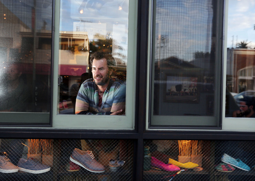 Blake Mycoskie, CEO Toms Shoes