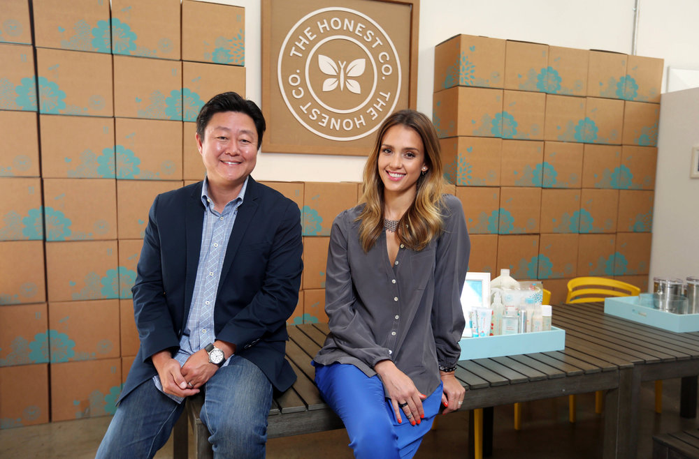 Brian Lee, Jessica Alba, The Honest Co.