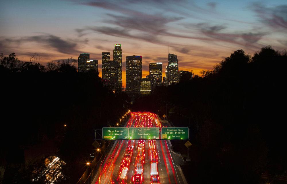 Downtown L.A. Skyline