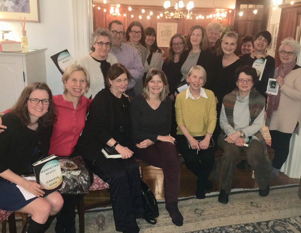 Jennifer Egan discusses MANHATTAN BEACH, amid a snowstorm, with an intrepid group of fans.
