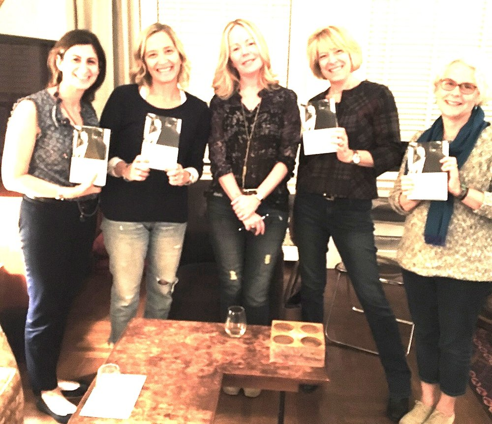 Novelist and memoirist Dani Shapiro at her Pop-Up Book Group for HOURGLASS
