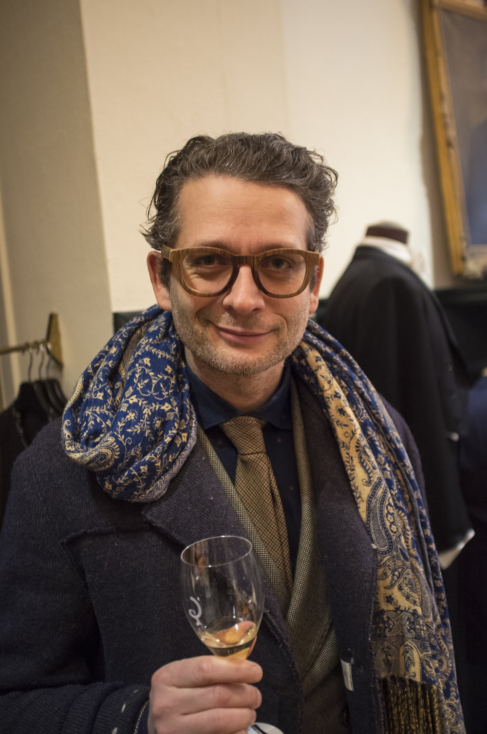 Style entrepreneur and TV host Fosco Giulianelli.